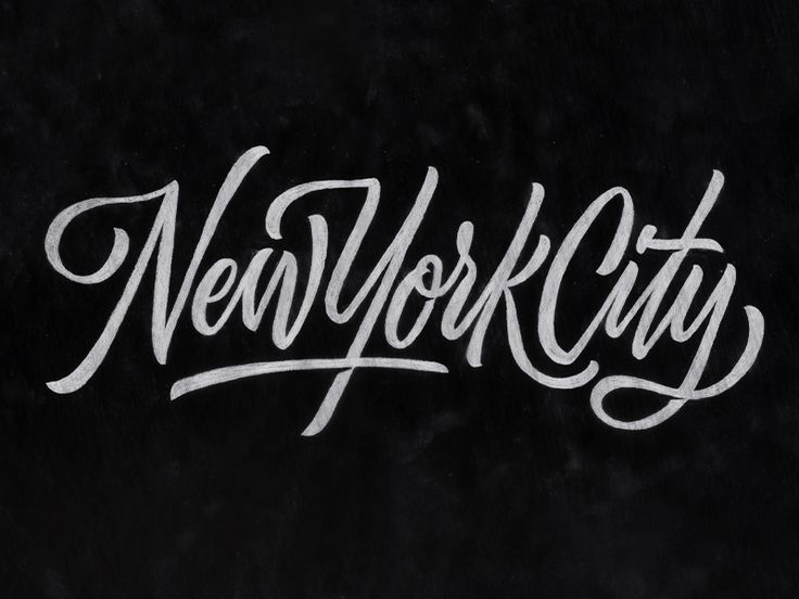 Best new york lettering typography images on