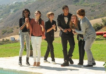 Diamond White, Carly Rose Sonenclar, Reed Deming, Arin Ray, Beatrice Miller, and James Tanner! <3 them all!
