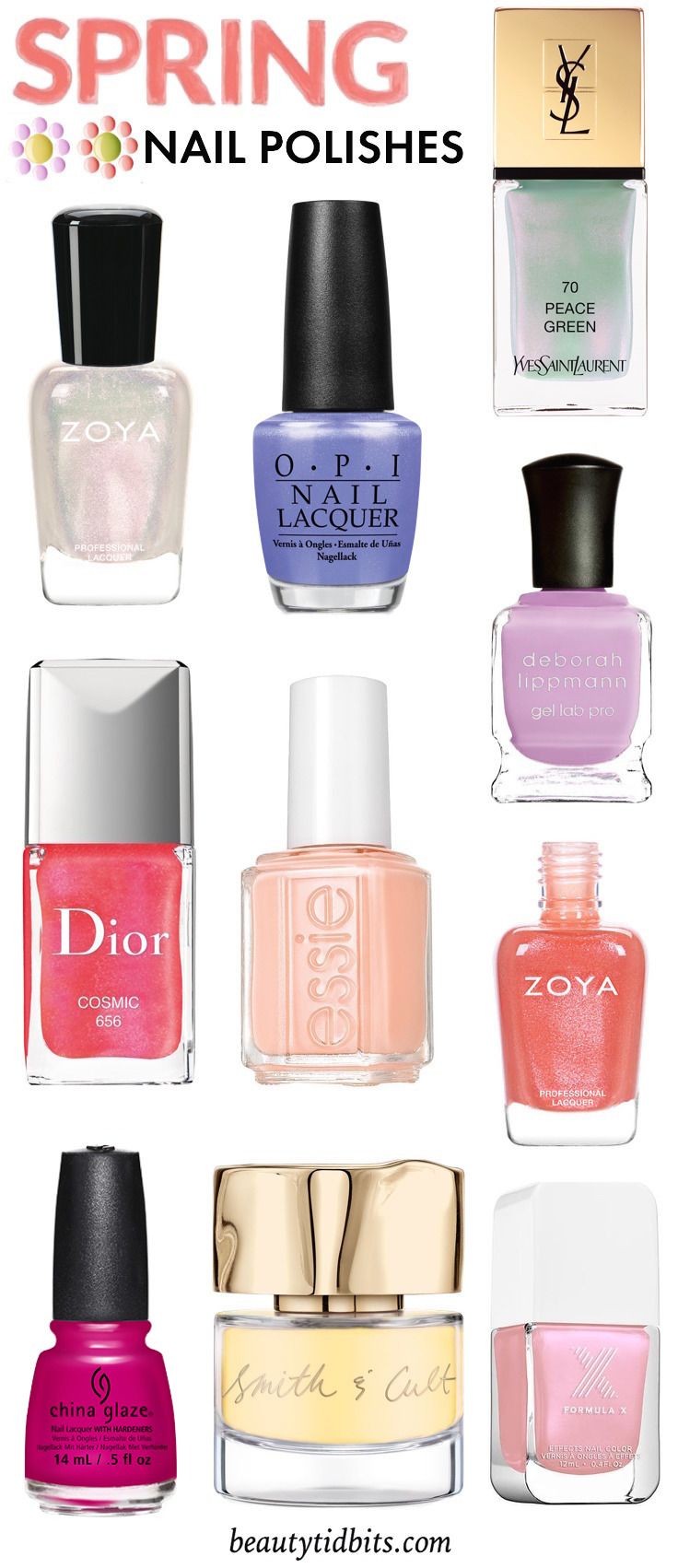 Game nail color workshop - Beat The Winter Blues With These Hot Spring Nail Colors