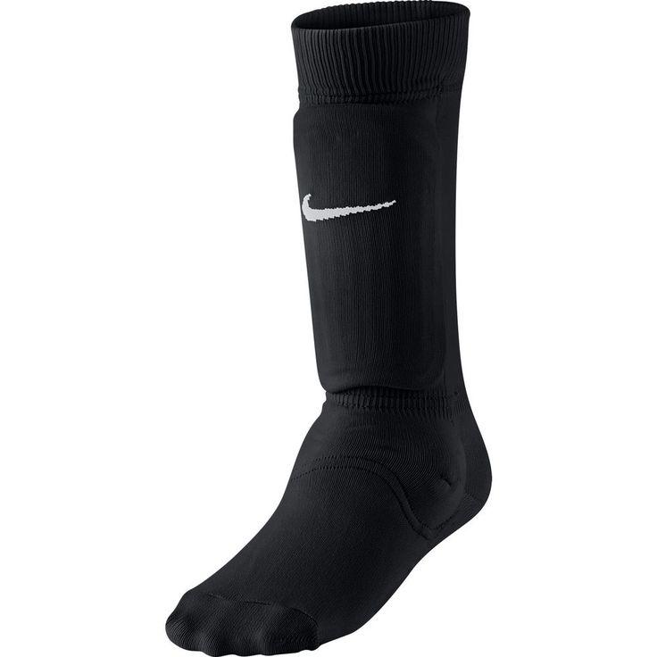 NIKE Kids' Youth Shin Sock Sleeve III Black/White Medium/Large SP0121  #NIKE