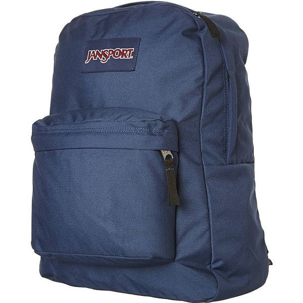 Womens Jansport Superbreak Backpack Blue Cotton ($30) ❤ liked on Polyvore featuring bags, backpacks, blue, women, blue backpack, jansport, jansport daypack, jansport rucksack and jansport backpack