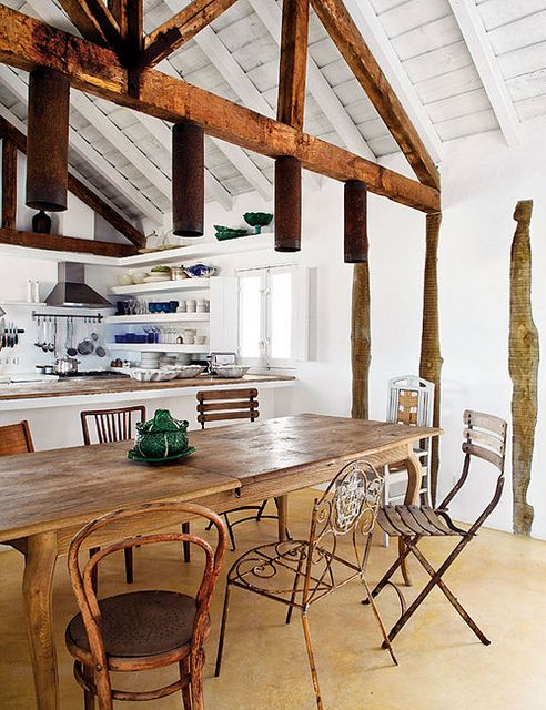 a stunning summer home in portugal by the style files, via Flickr