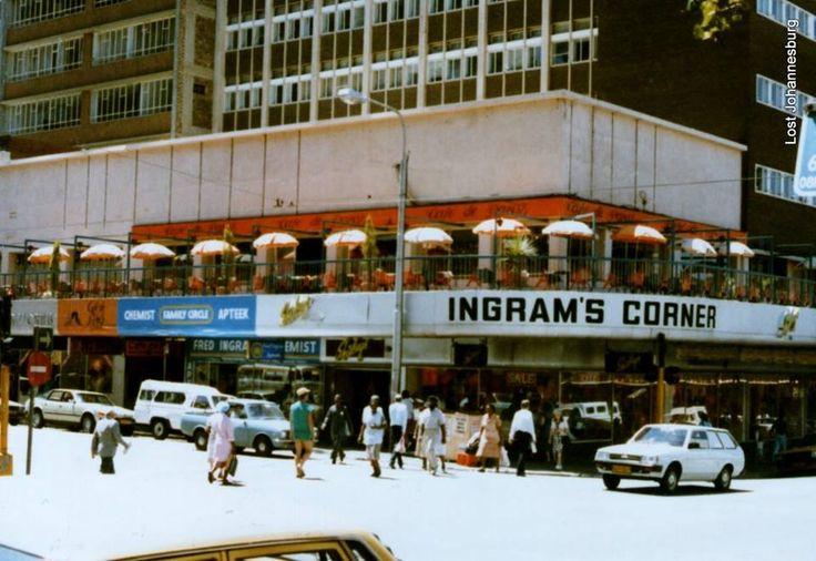 Ingrams Corner, Hillbrow Circa 1980