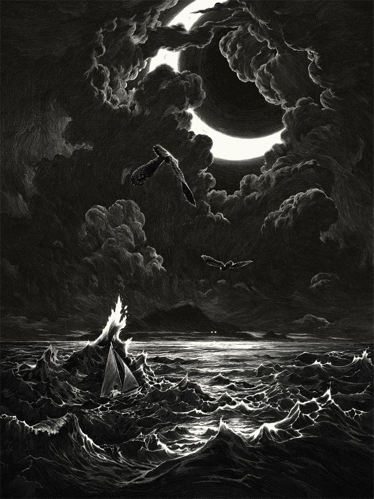 "These brooding illustrations have been created using only black ink and sharp tools, a scratchboard technique, which focuses on the negative space with beautifully eerie results. The artist behind them is Paris-based illustrator Nicolas Delort. He says that all of his work is improvised and that that he's never happy with his stuff until it's finished: ""I make a final sketch, transfer it to the scratchboard and scratch away till my wrist hurts."" We know that feeling. Some of his scenes are…"