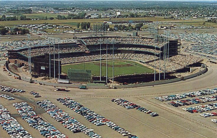 Metropolitan Stadium, Bloomington Minnesota, 1960's