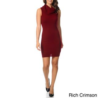 Ply Cashmere Women's Cowl Neck Sweater Dress | Overstock.com Shopping - The Best Deals on Casual Dresses