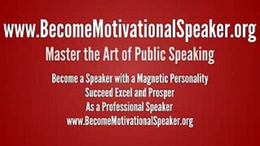 http://www.BecomeMotivationalSpeaker.org Master the Art of Public Speaking, Become a speaker with a Magnetic Personality Succeed Excel and Prosper as a Professional Speaker FREE 21 Day Public Speaking eCourse on Presentation skills and Public Speaking. Become A Powerful Motivational Speaker with a magnetic personality. People succeed more in Business and Career when they improve their Public Speaking skill and Presentation Skills. Go To http://www.BecomeMotivationalSpeaker.org
