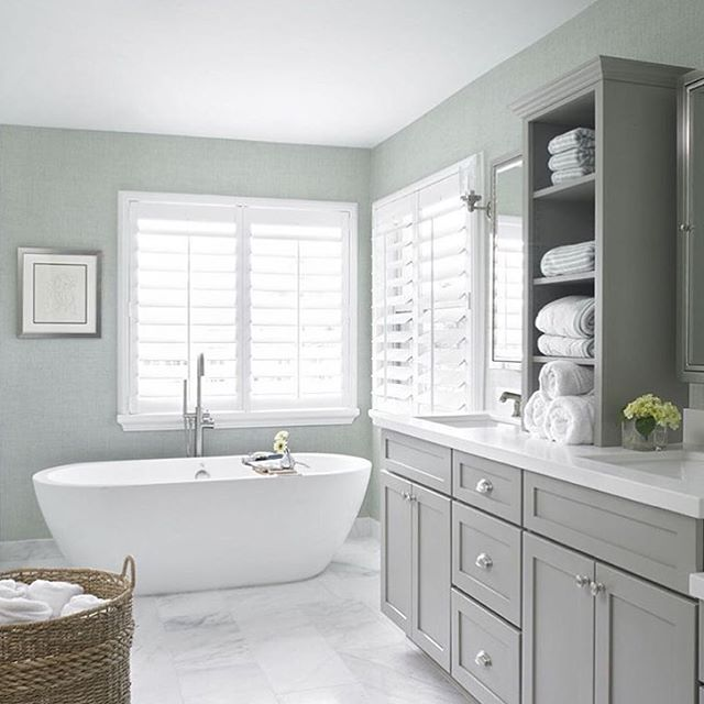 20 Wonderful Grey Bathroom Ideas With Furniture To Insipire You Church Shabby Chic Master Cabinets