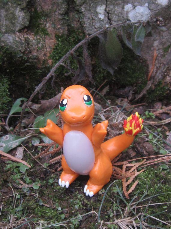 Pokemon Inspired: Charmander Figurine/Model by TheTallGrass