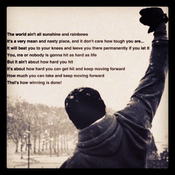 Rocky Quote 13 Best Rocky Images On Pinterest  Rocky Quotes Struggling Quotes .