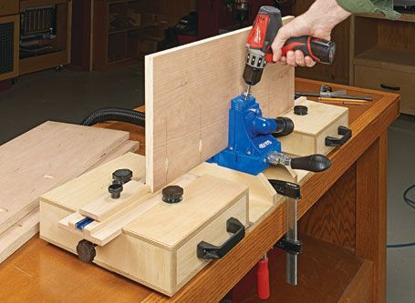 Pocket-Hole Jig Workstation | Woodsmith Plans