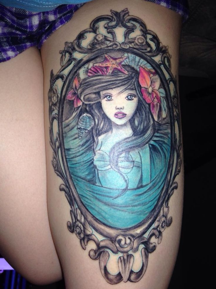 http://i.imgur.com/1LggK5a.jpg Little Mermaid by Justin Page @ Ink Revolutions Studios in Johnson City TN.
