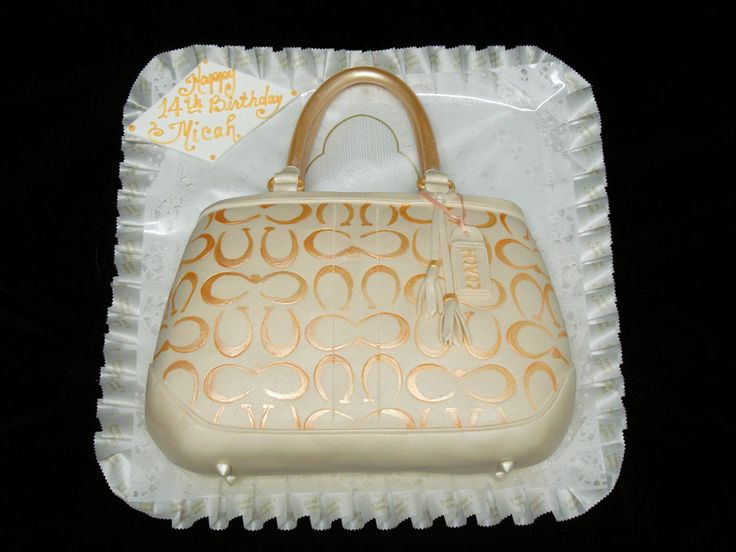 Coach Purse Birthday Cake Birthday Cakes For Her Freed