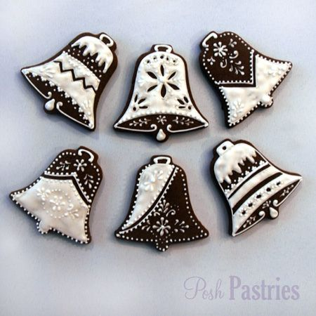beautiful bells from posh pastries