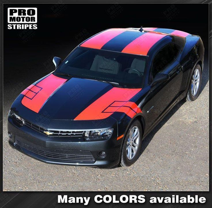 Chevrolet Camaro 2010-2015 Coupe NS1 Style Stripes Complete Set