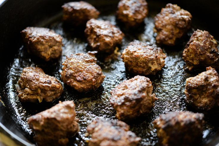 """Packed with superfood ingredients, these Paleo chicken liver meatballs are finally a way to get the nutrition powerhouse on the table in a delicious, family-friendly dish. I debated (too heavily) on the name for this recipe. A part of me wanted to sneak the chicken-liver in there with an implied """"superfood"""" title. Sneaking-it-in is essentially …"""