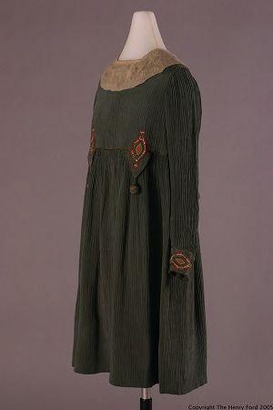 Girl's Dress, 1915-1920