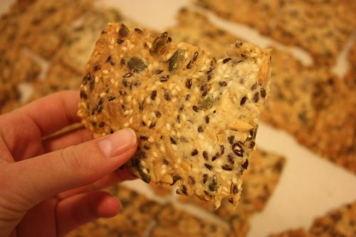 A friend made these and they are my new favourite crunchy/salty thing :) dl stands for 100ml