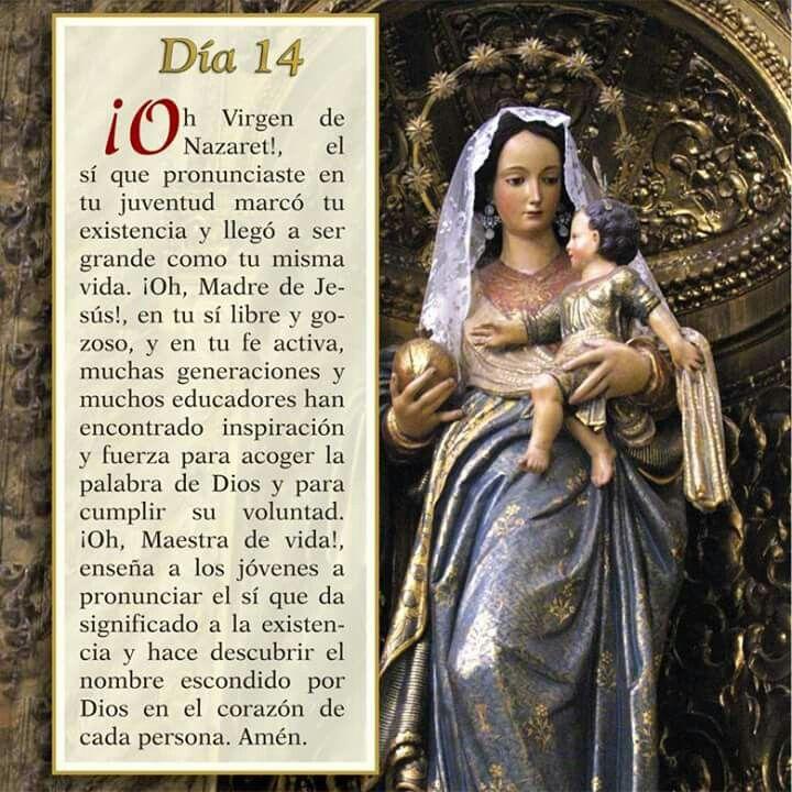 Oración día 14, Mayo mes de María