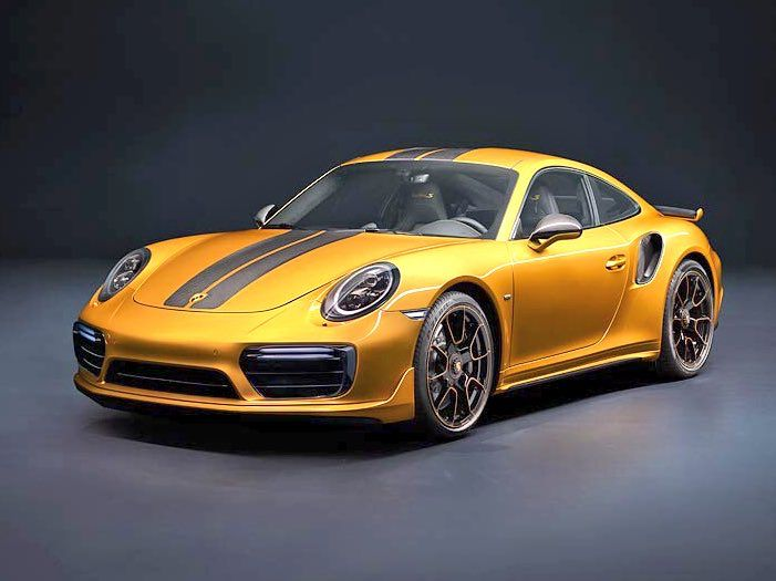 Exceptionnel The New #Porsche911TurboS #ExclusiveSeries Is The Most Powerful And Unique  911 Turbo S Ever