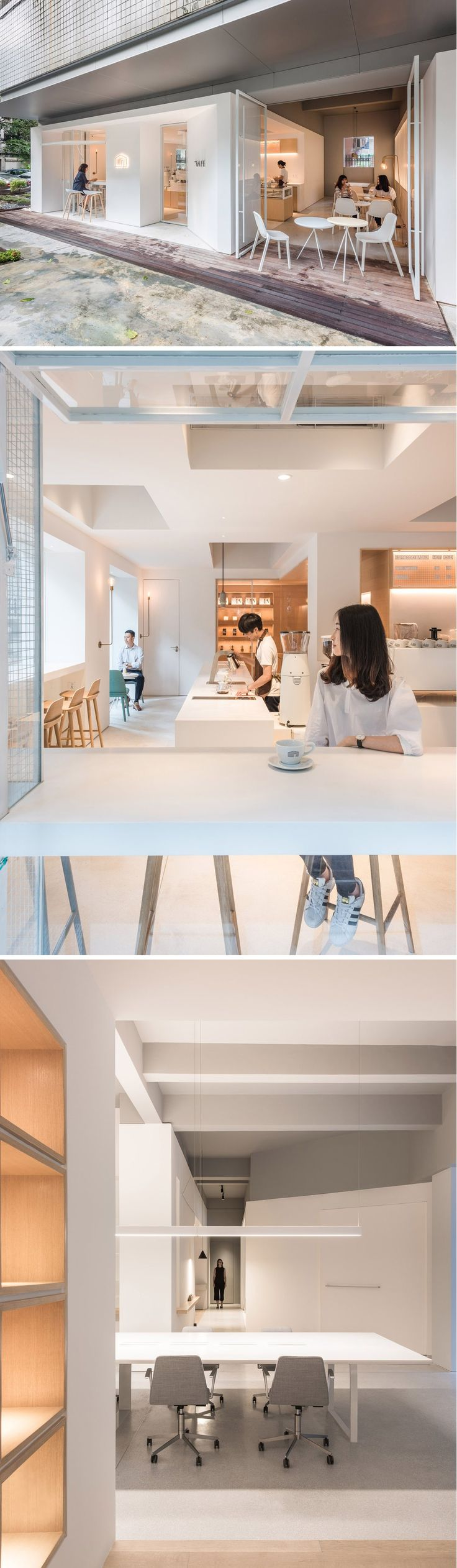Lukstudio Studio Revives An Empty Corner Lot Into Both An Office And A Cafe  Located In