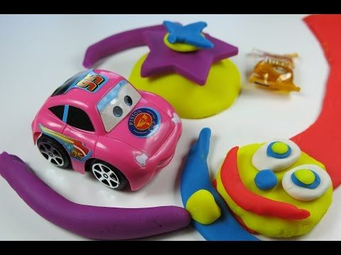 Play Doh Surprise Egg Car Unwrapping by Kids Wow Collector