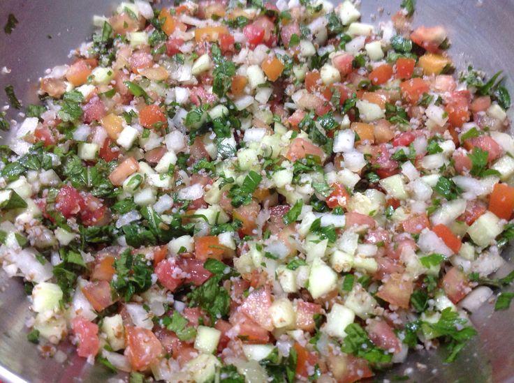 Tabule: salada árabe