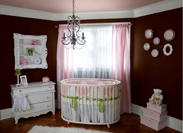 Little Girls Rooms | Baby Girls Nursery Room Design and Decorating Ideas by Benjamin Moore