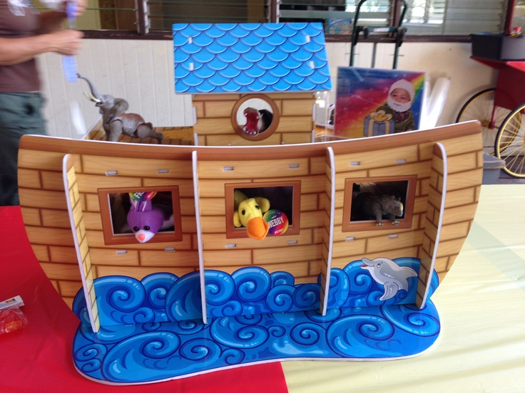 Noah S Ark Centerpiece From Oriental Trading Fill With