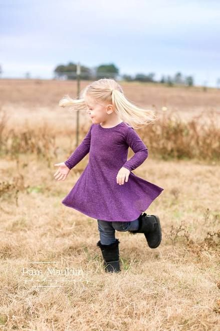 Girl's Sweetie Tunic & Dress Pattern by Ellie and Mac | PDF Sewing Patterns for Girls | #sweetiedress #ellieandmacpatterns