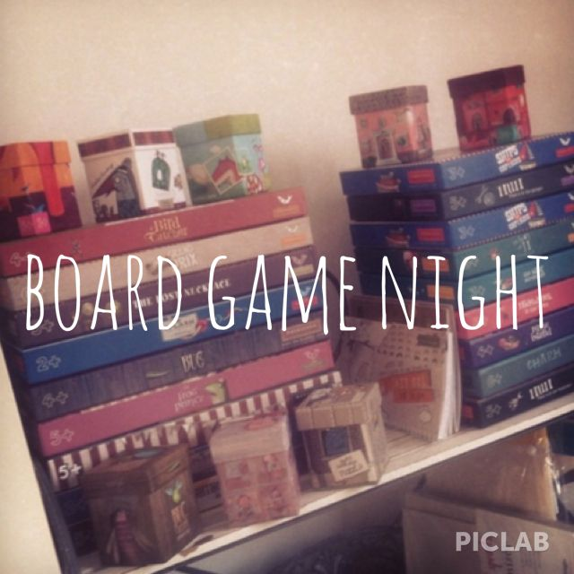 Summer bucket list 2014 board games night