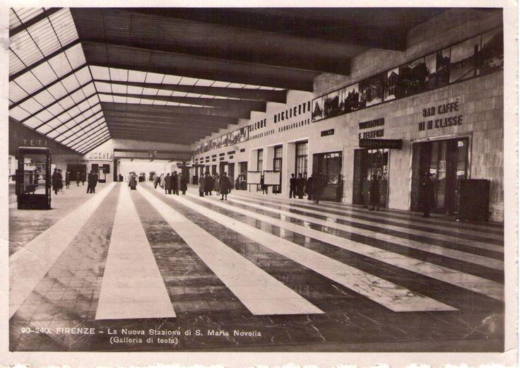 1936, la Galleria di testa della Stazione SMN