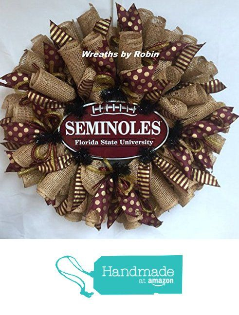 Florida Seminoles Wreath FSU College Wreaths Sports From