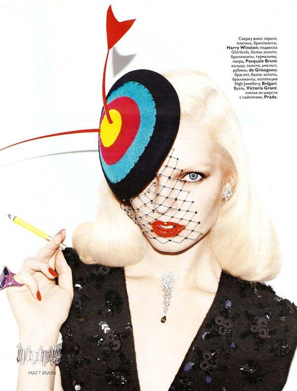 Anastasija Kondratejeva by Matt Irwin Vogue Rusia December 2010 Jewelry Supplement.