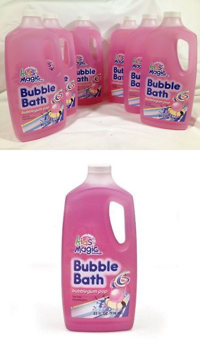 Other Baby Bathing and Grooming 45454: Baby Magic Bubble Bath Bubblegum Pop Tear Free Hypoallergenic 33 Ounce 6 Pack -> BUY IT NOW ONLY: $37.99 on eBay!