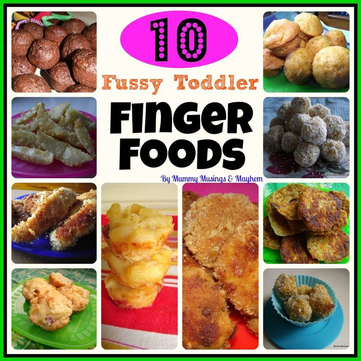 finger foods for toddlers to make