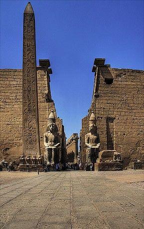 Temple de Luxor, Egypte                                                                                                                                                      Plus