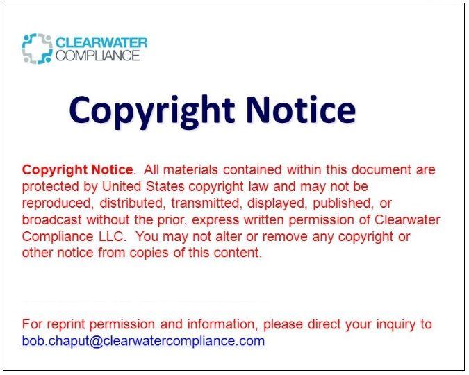 11 Copyright Notice Templates  Free Printable Word  PDF