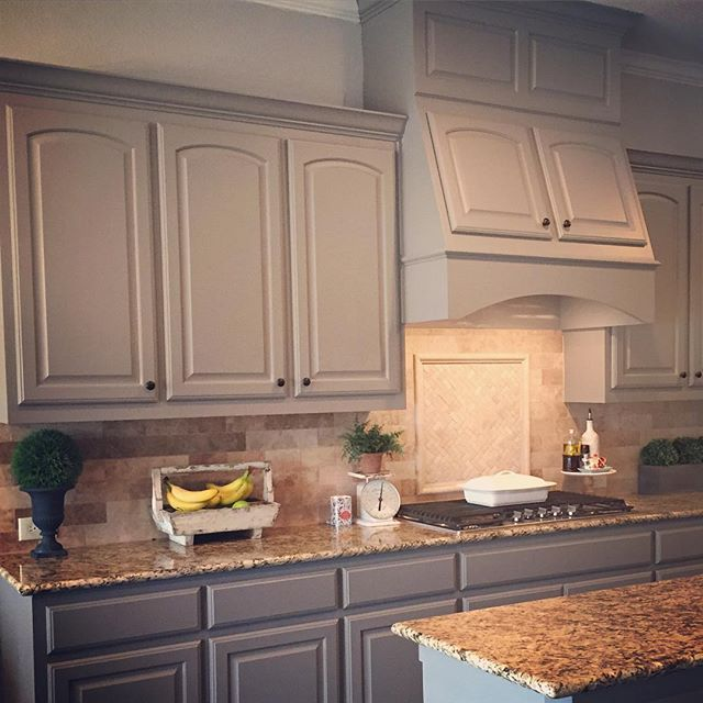Kitchen Cabinet Painting Ideas Colors Paint Color Sw 7018 Dovetail From Sherwin-williams