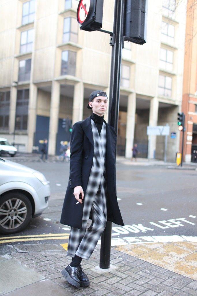 London Men's Fashion Week street style. [Photo by Kuba Dabrowski]
