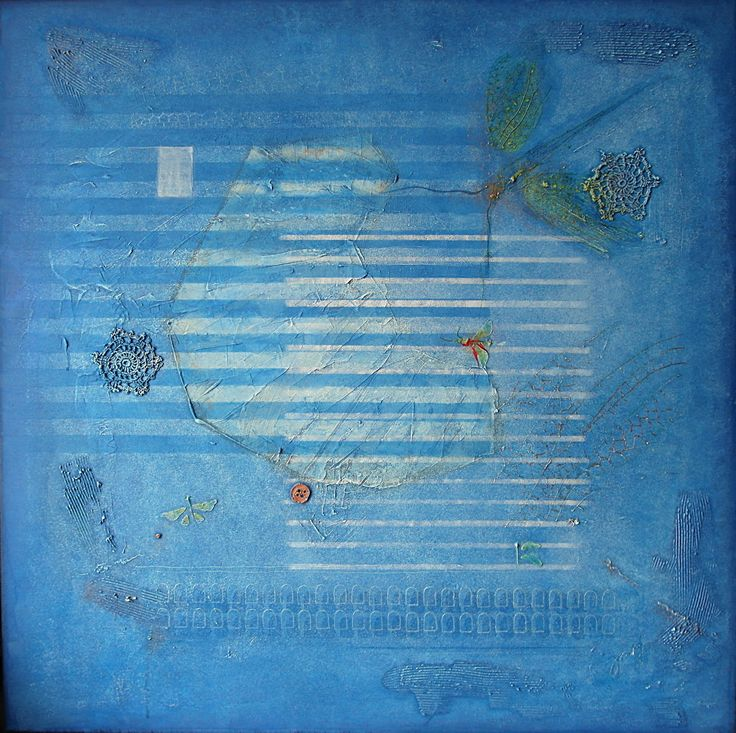 6-2015, 90x90 cm, mixed media on canvas