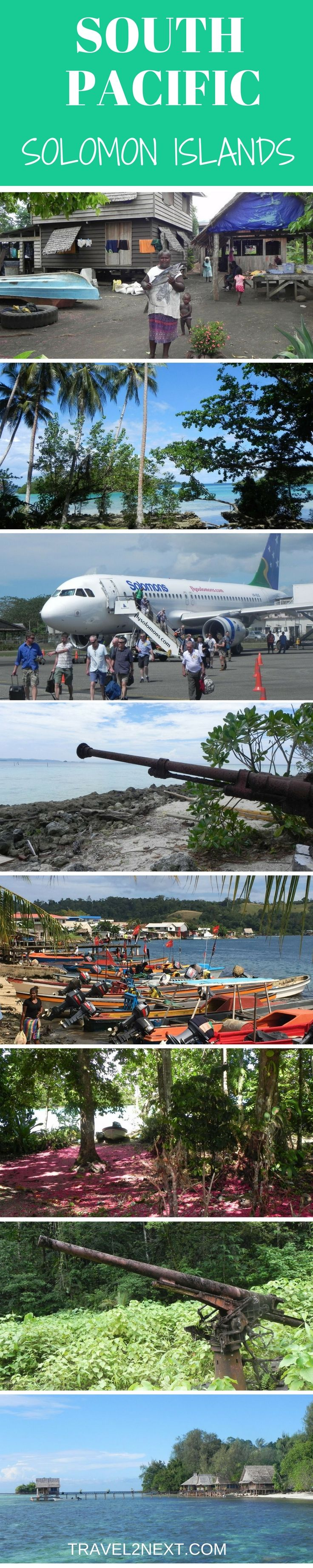 The Solomon Islands in the South Pacific is a string of islands that will take you back in time.