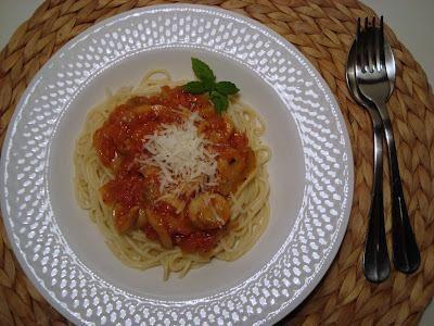 Σάλτσα για ζυμαρικά από Φρέσκιες Ντομάτες και Μανιτάρια   cookcool