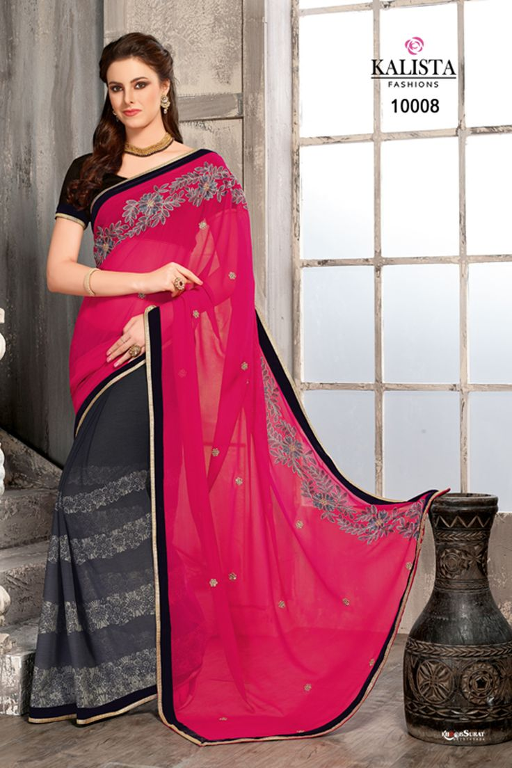 #designer #sarees @  http://zohraa.com/pink-chiffon-saree-z2983p10008-132.html #designersaree #celebrity #zohraa #onlineshop #womensfashion #womenswear #bollywood #look #diva #party #shopping #online #beautiful #beauty #glam #shoppingonline #styles #stylish #model #fashionista #women #lifestyle #fashion #original #products #saynotoreplicas