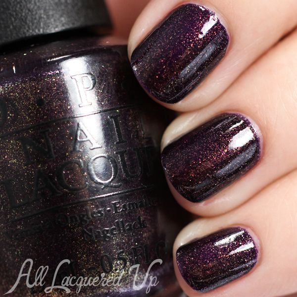 "OPI Holiday 2014 Gwen Stefani – ""The Darks"" Swatches and Review"