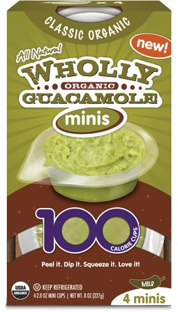 Organic 100 Calorie Minis - Products | Wholly Guacamole