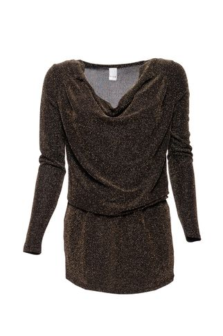 Vila Tunic MIFLU gold. Also in silver. Perfect dress for the holidays! Gotta buy this now with 50% off! Be there at www.vimodos.nl