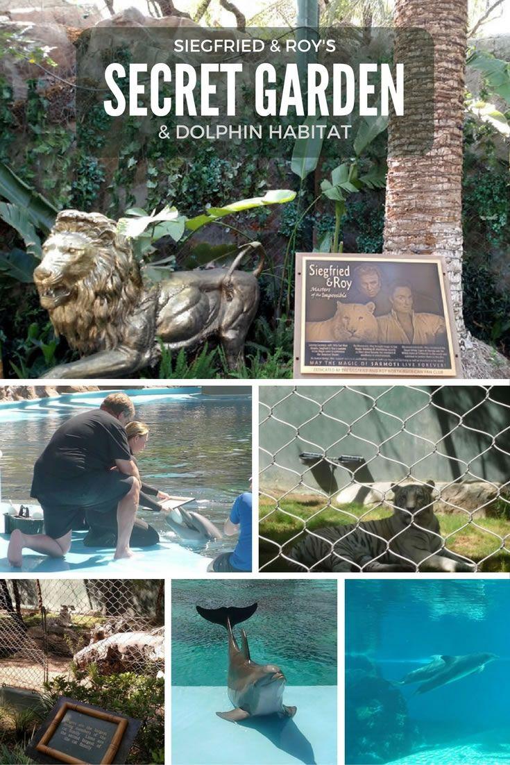 Siegfried & Roy Secret Garden and Dolphin Habitat in Las Vegas at the Mirage Hotel