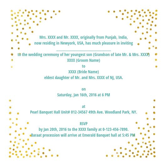 The 25 best Indian wedding invitation wording ideas – Invitation Card Wording