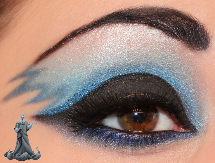 Disney Villain Series : Hades Inspired Makeup - Luhivy's favorite things